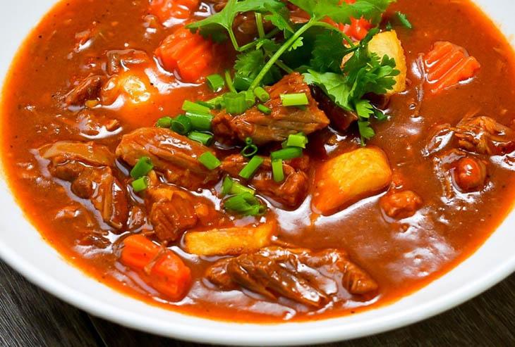 cách làm thịt bò nấu sốt vang 9