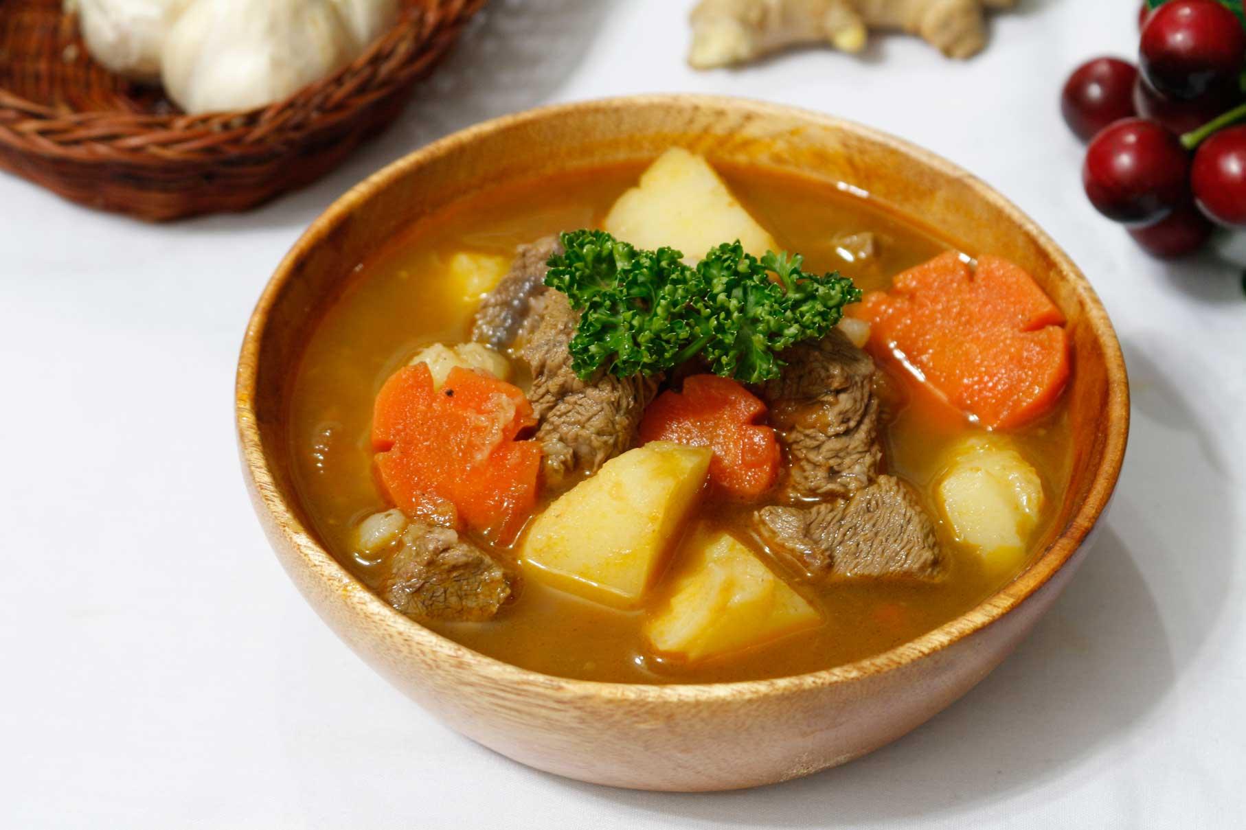 cách làm thịt bò nấu sốt vang 1