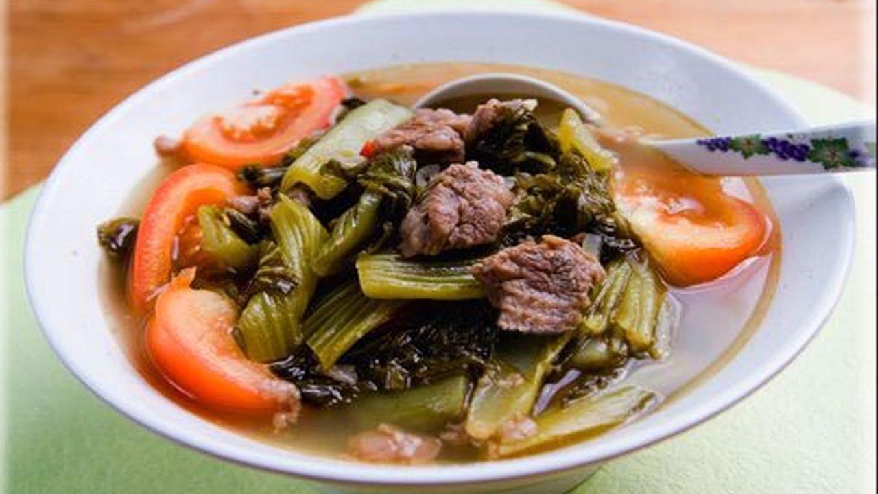 giá trị dinh dưỡng của thịt bò nấu dưa chua 1