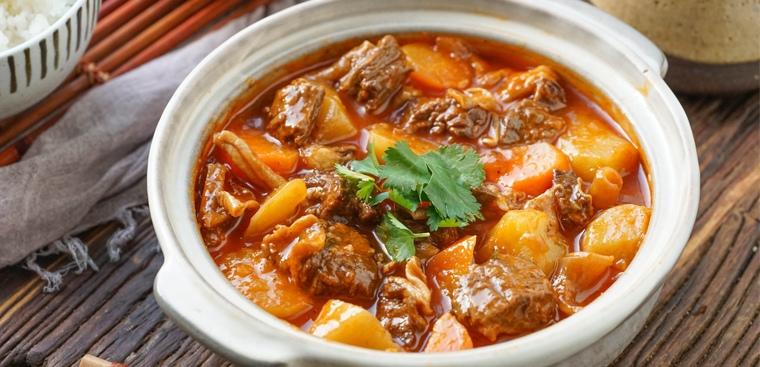 thịt bò nấu khoai tây 1