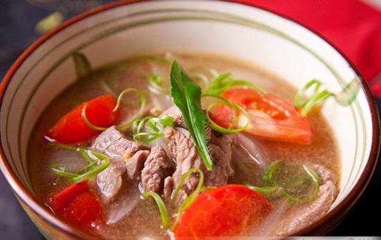 thịt bò nấu cà chua 1