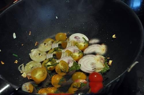 thịt bò nấu lá tía tô 6
