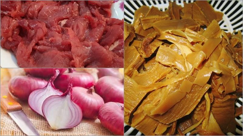 thịt bò nấu măng khô 2