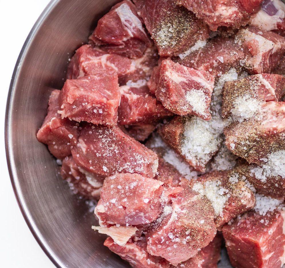 thịt bò nấu nước dừa 3