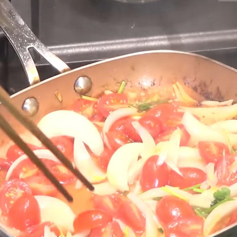 thịt bò nấu rau răm 8