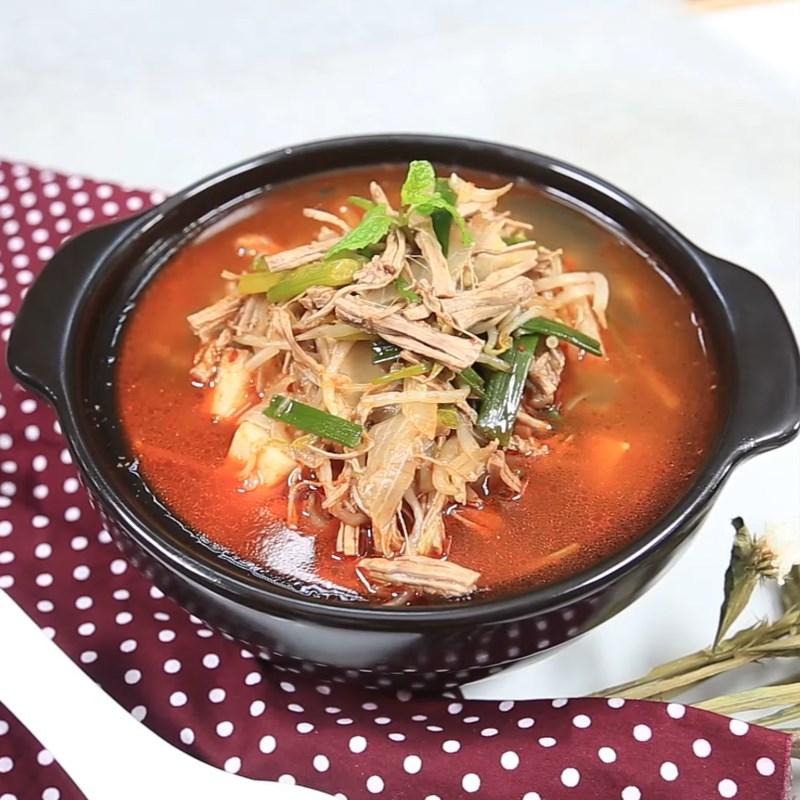 thịt bò nấu súp Hàn Quốc 7