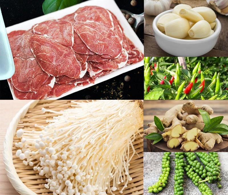 thịt bò nấu súp vị người Hoa 1