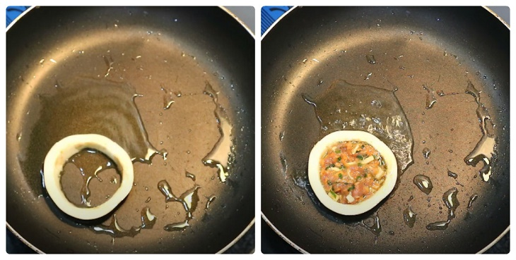 cà tím chiên trứng thịt băm 7