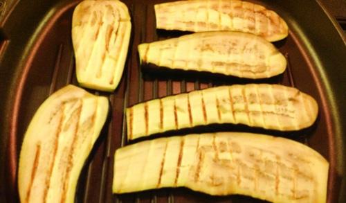 cà tím nướng bằng chảo quyện phô mai 2