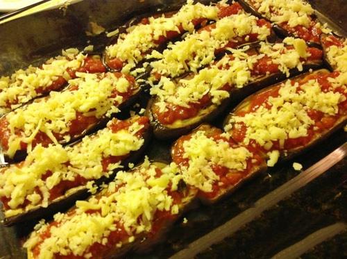 cà tím nướng bằng chảo quyện phô mai 3