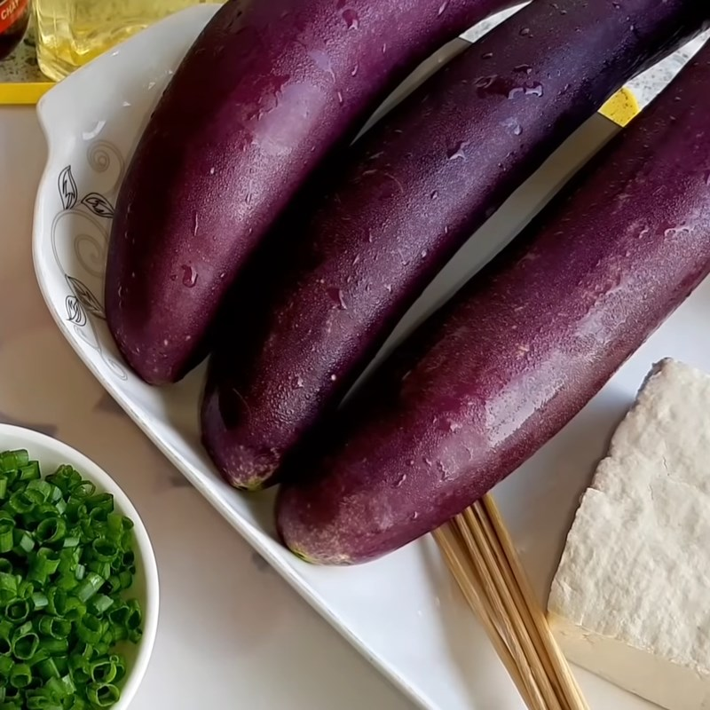 cà tím nướng chay cuộn đậu hũ 1