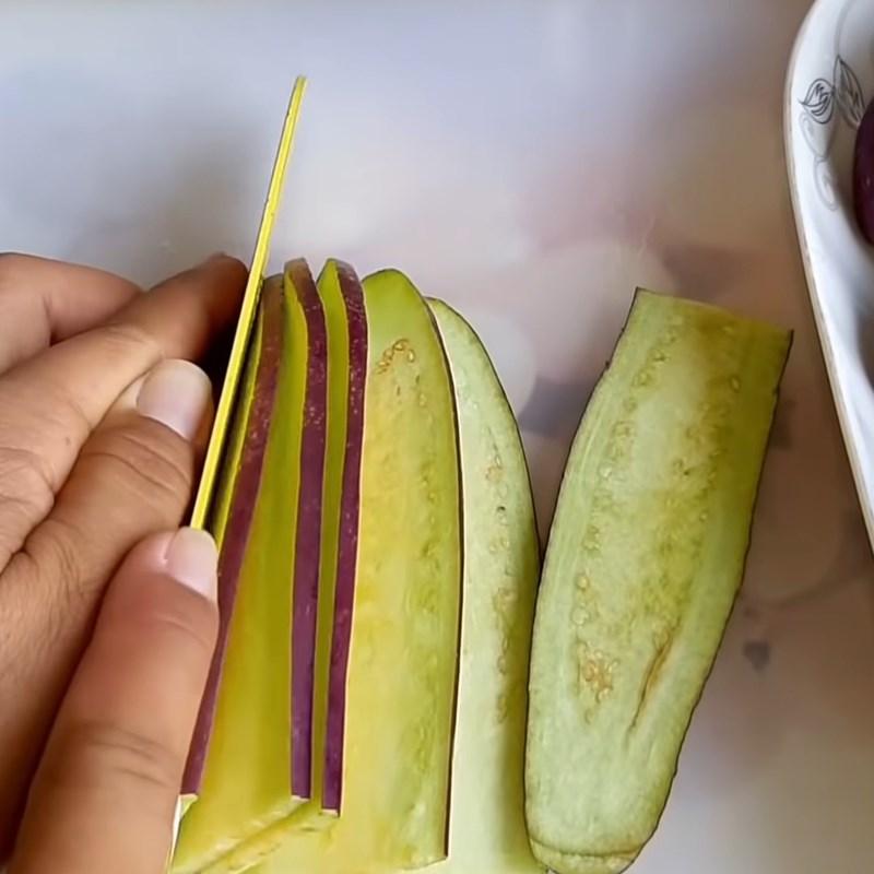 cà tím nướng chay cuộn đậu hũ 3