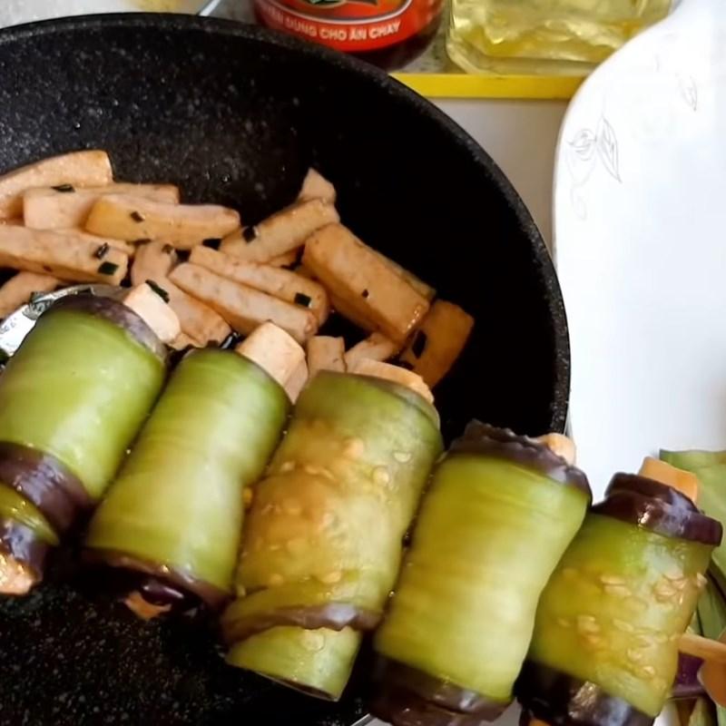 cà tím nướng chay cuộn đậu hũ 5