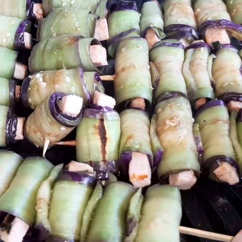 cà tím nướng chay cuộn đậu hũ 6