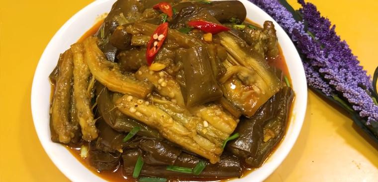 cà tím xào chao nước dừa 3