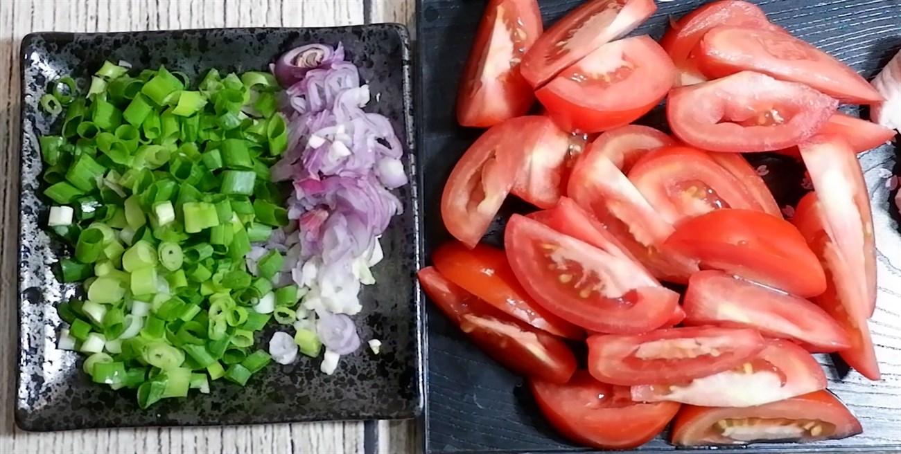 cà tím xào thịt đậu phụ 5