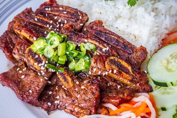 cách làm sườn bò nướng Hàn Quốc 1