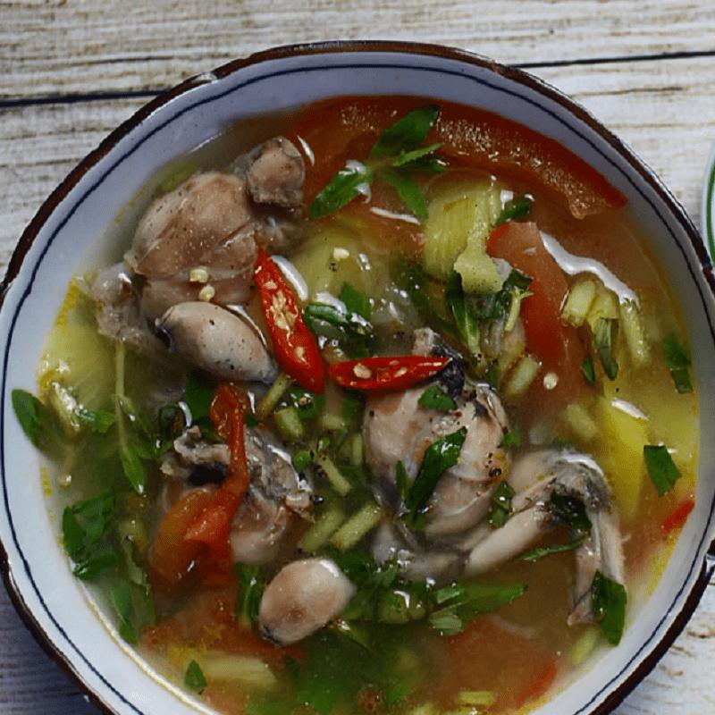 ếch nấu canh chua