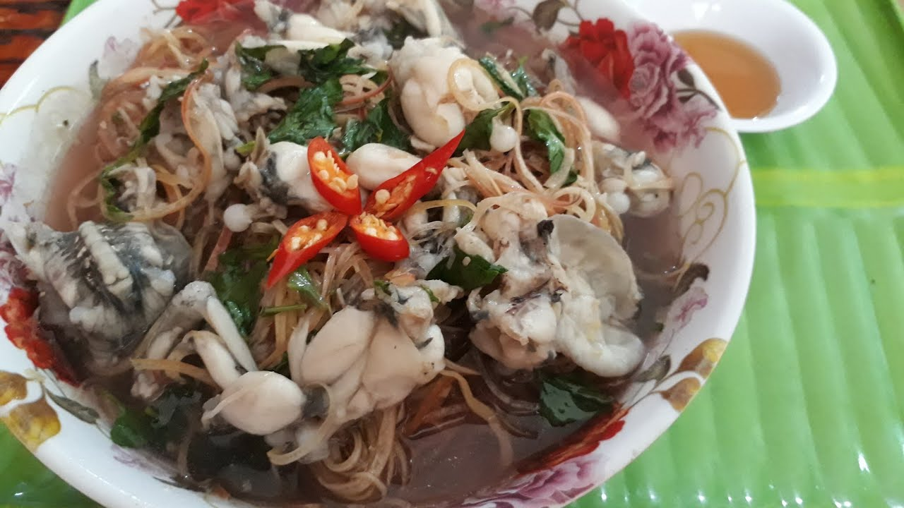 ếch nấu hoa chuối