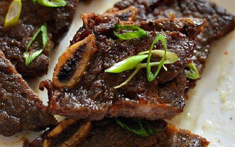 Sườn bò nướng Hàn Quốc