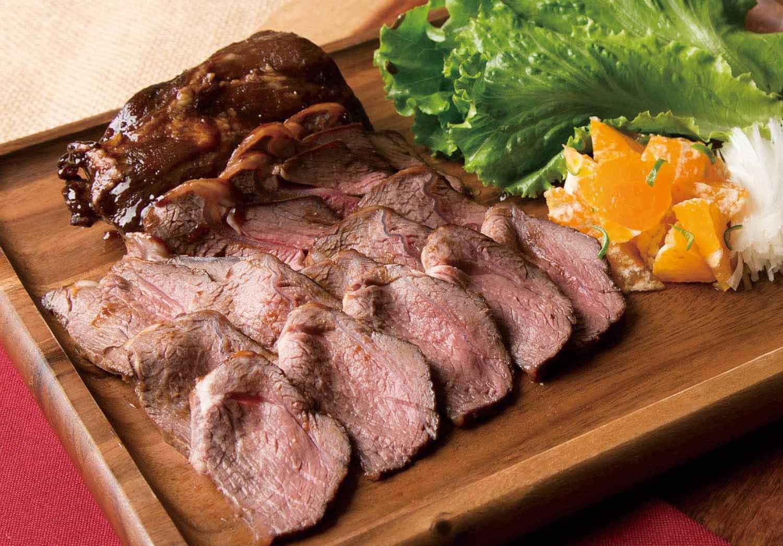thịt hươu nướng ngũ vị 2