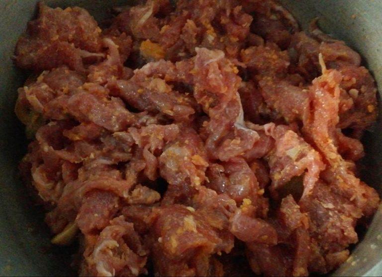 thịt nai xào hành tây 2