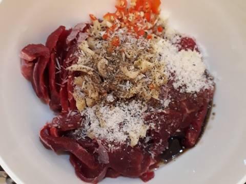 thịt nai xào hoa chuối 3
