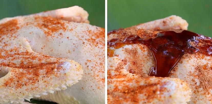 thịt ngan nướng ngũ vị 3