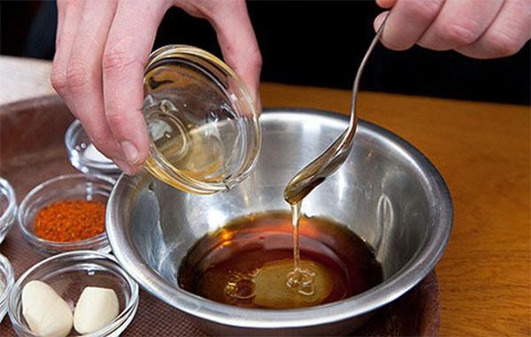 thịt ngan nướng mật ong 1