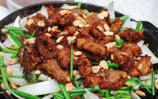 thịt ngan nướng riềng mẻ 6