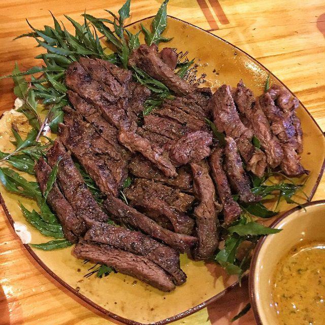 thịt ngựa xào rau răm 5