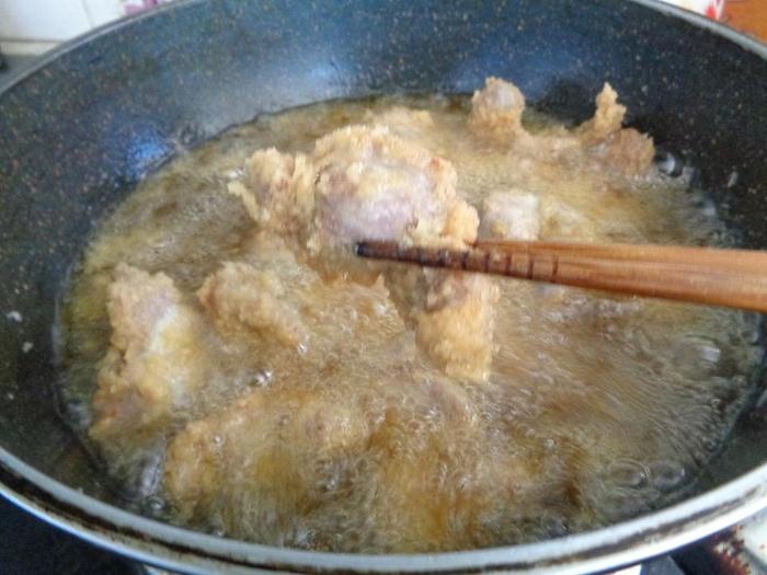 mề gà rang muối chiên xù 4