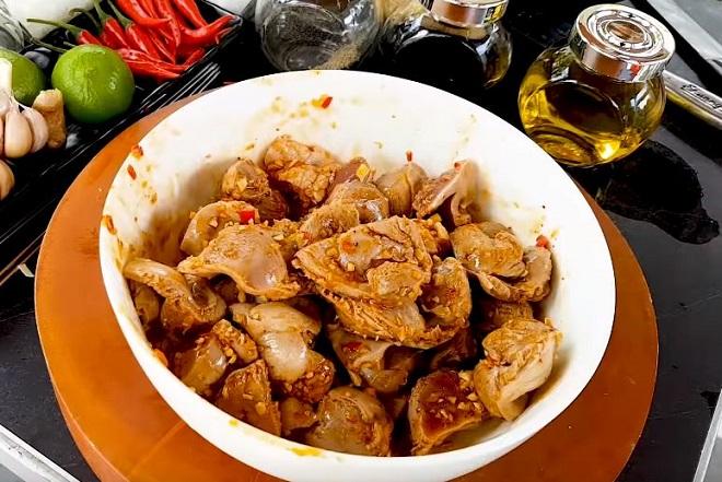 ướp mề gà nướng 1