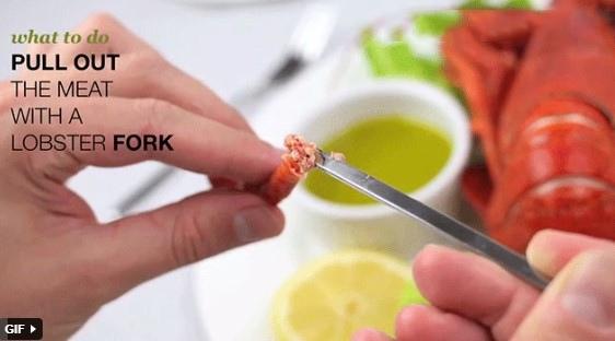 cách ăn tôm hùm hấp 2