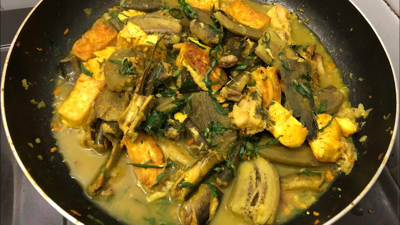 cách nấu cá chạch om chuối 9