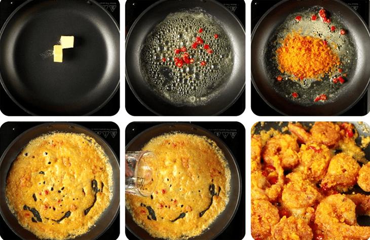 tôm rang trứng muối 10