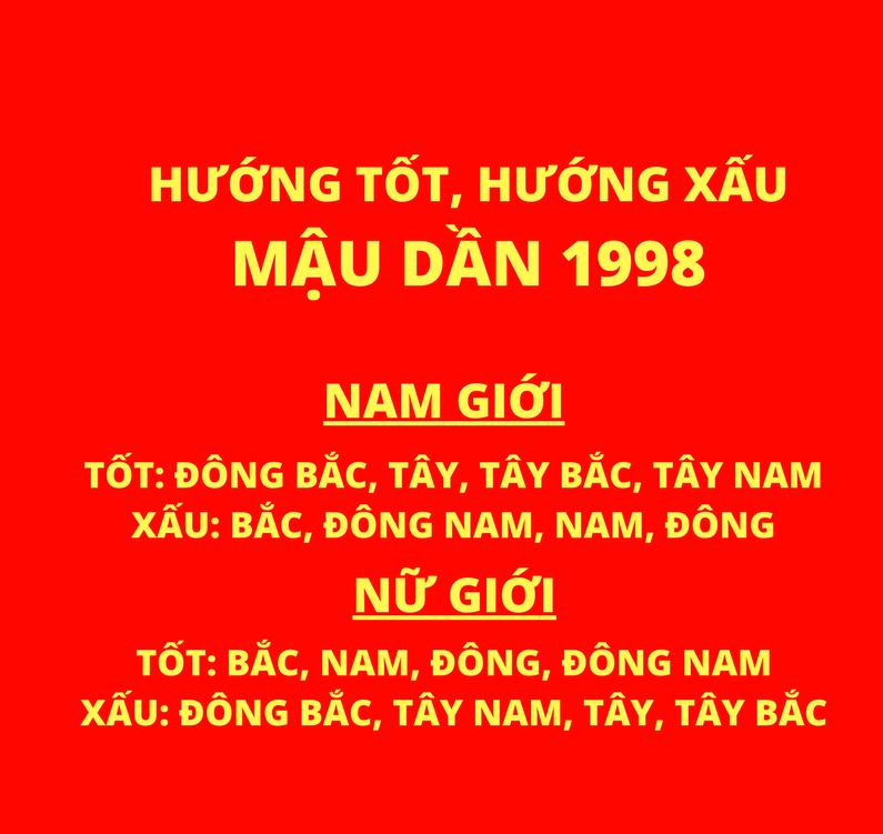 1998 hợp hướng nào 1