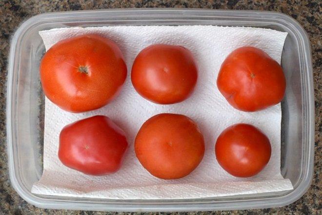 bảo quản cà chua trong tủ lạnh 1