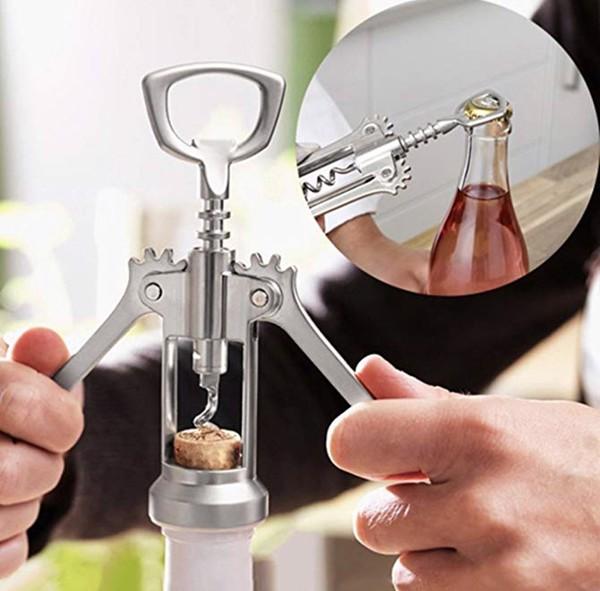 cách mở rượu vang 4