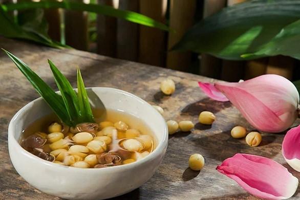 giá trị dinh dưỡng của hạt sen tươi 1