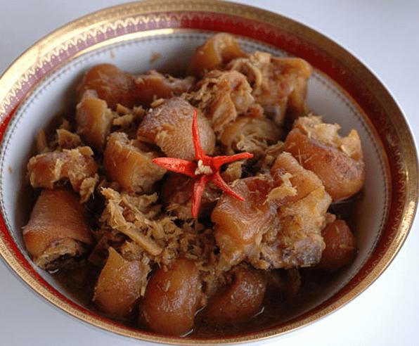 giá trị dinh dưỡng của món thịt dúi 1