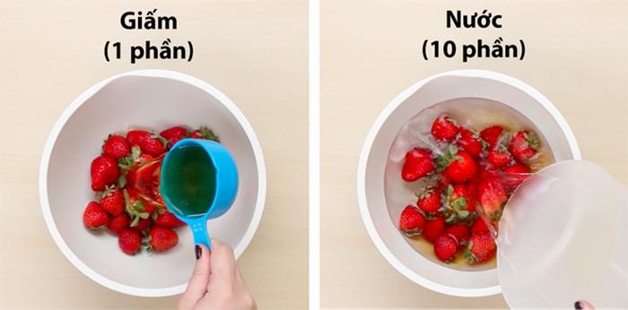 hướng dẫn các bước bảo quản dâu tây trong tủ lạnh 1
