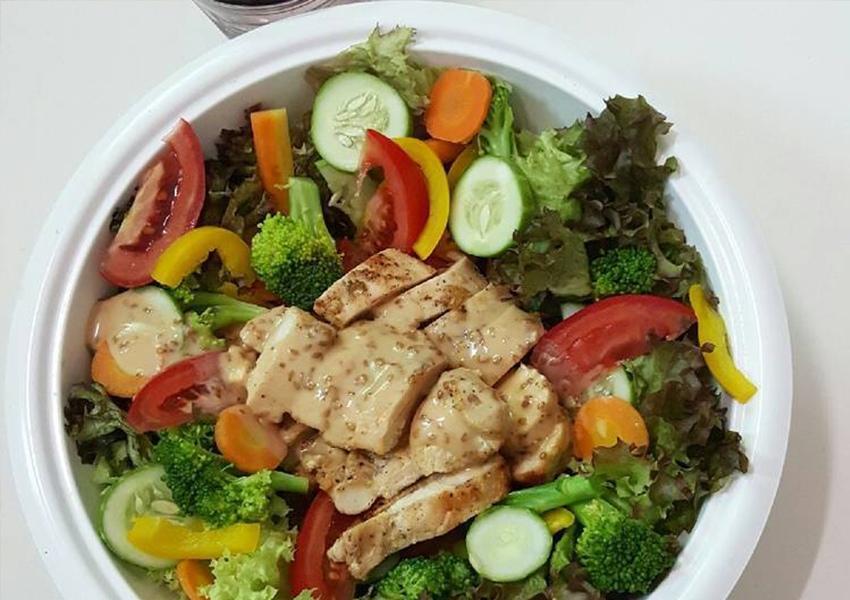 salad ức gà dầu giấm 1