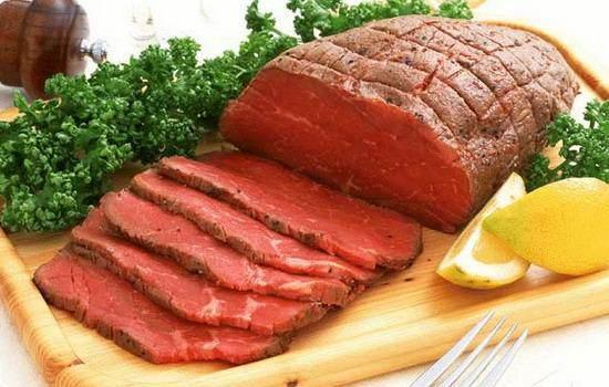 thịt bò kỵ gì 5