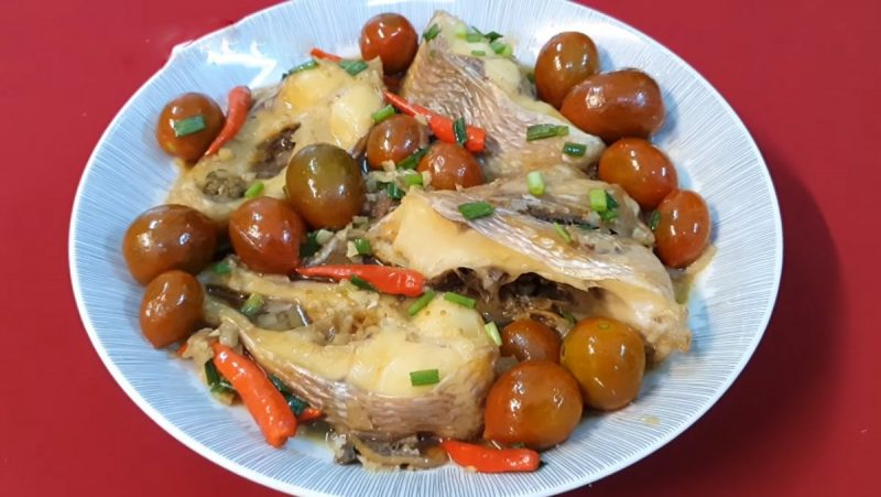 Cách làm món cá diêu hồng kho cà chua thơm ngon, đậm đà 1