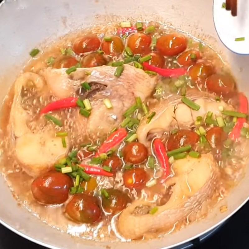 Cách làm món cá diêu hồng kho cà chua thơm ngon, đậm đà 7