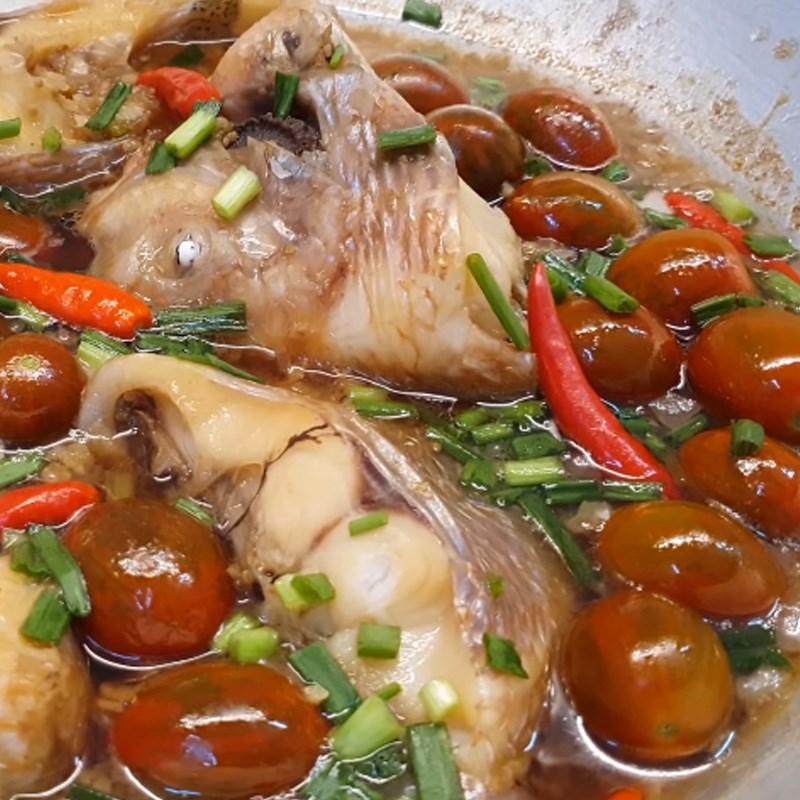 Cách làm món cá diêu hồng kho cà chua thơm ngon, đậm đà 8