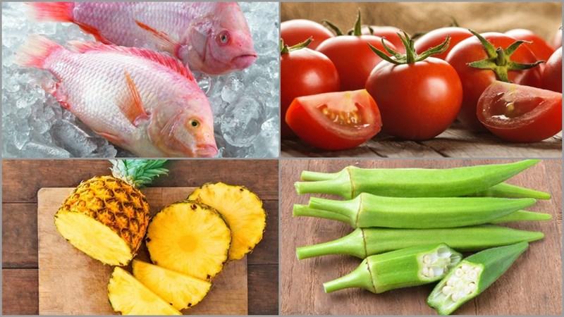 Cách chế biến cá diêu hồng nấu canh chua thanh mát cho ngày hè 2