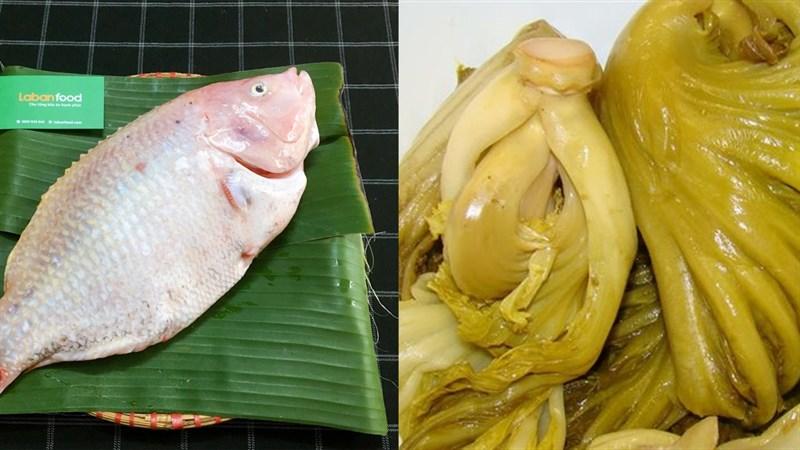 Chế biến cá diêu hồng nấu dưa chua thân thuộc và đưa cơm 2