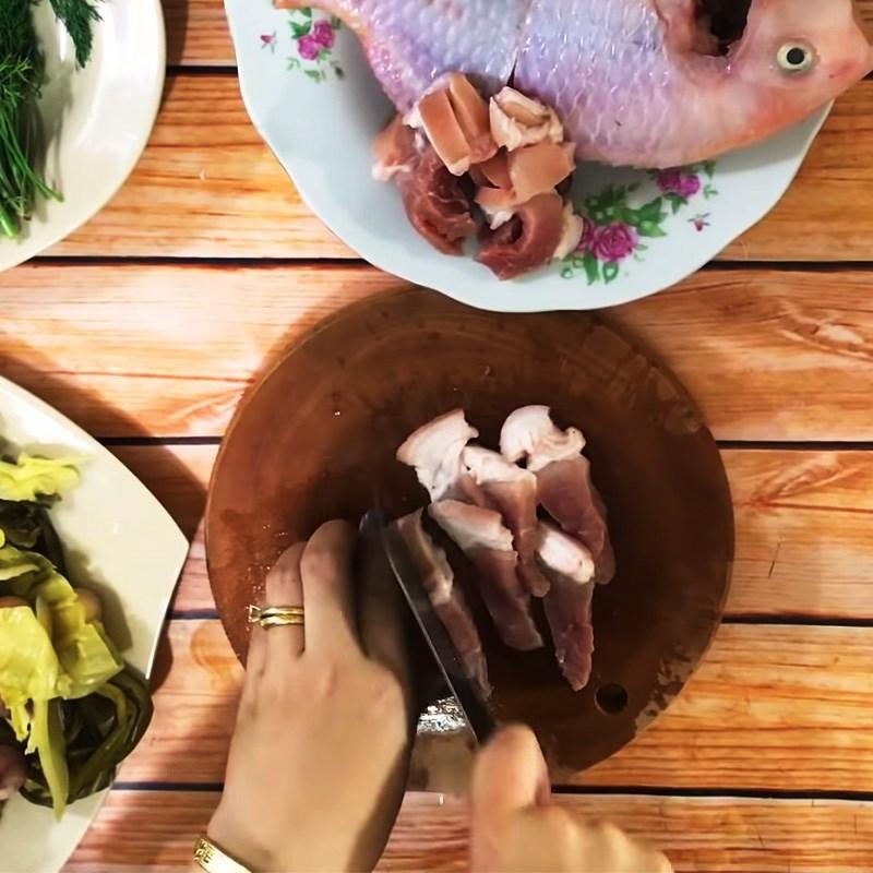 Chế biến cá diêu hồng nấu dưa chua thân thuộc và đưa cơm 4